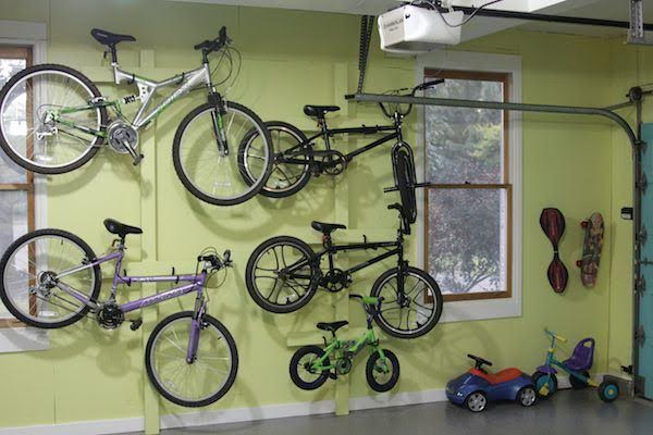 Bicycle Storage Ideas For Your Garage