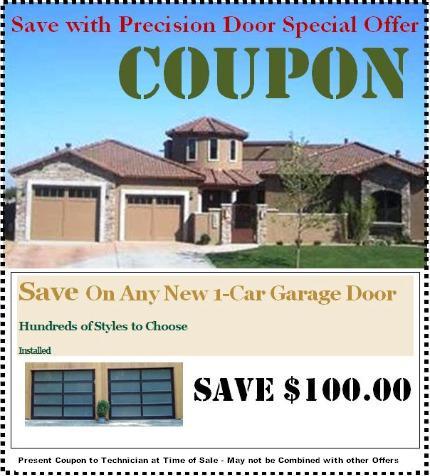 Save 100 On New Single Car Garage Doors